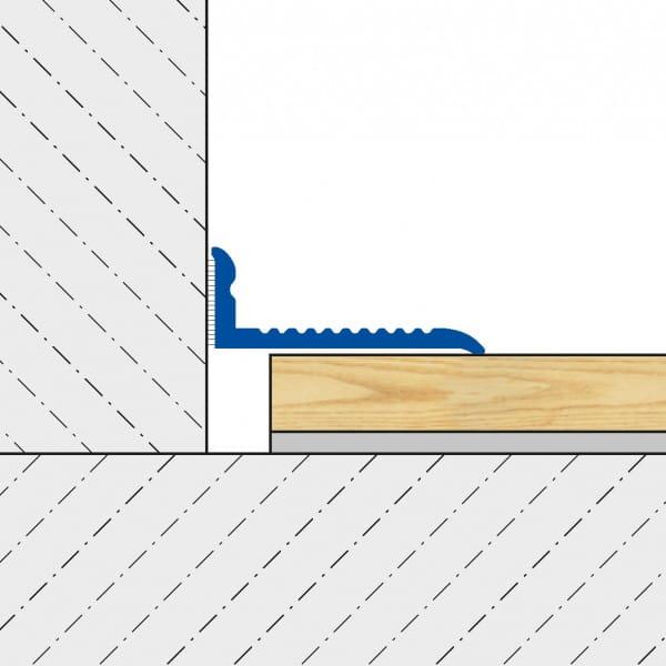 Abschlussprofil VARIO technische Zeichnung
