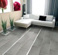 Dekorprofile Aluminium Wohnzimmer