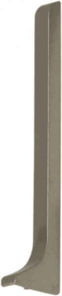 Endkappe für Sockelleisten 60 mm titan rechts eloxiert (matt)