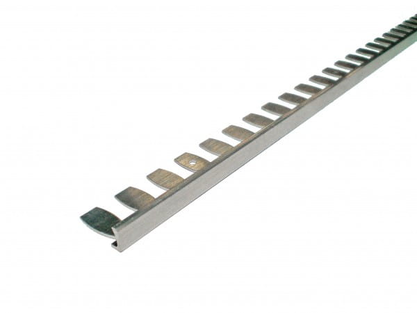 Flexibles Winkelprofil zum Biegen aus Aluminium natur