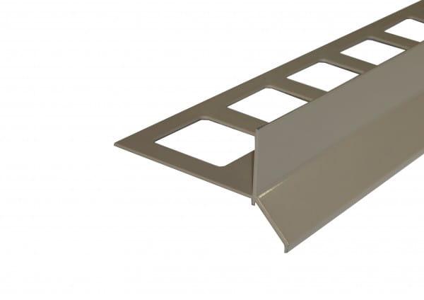 Balkonprofil Y-Form für Dickbett 65 mm beige
