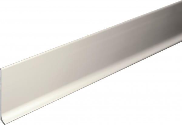 Sockelleiste aus Aluminium 40 mm silber eloxiert (matt)