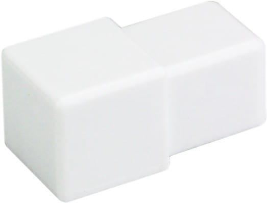 Quadratecke PVC Weiss