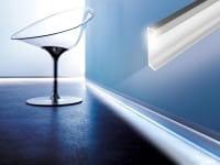 DURAL LED Sockelleiste aus Aluminium