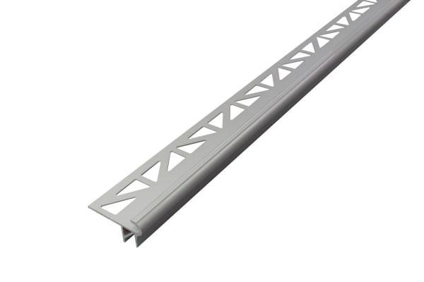 DURAL LED Treppenprofil im Florentiner Stil silber eloxiert