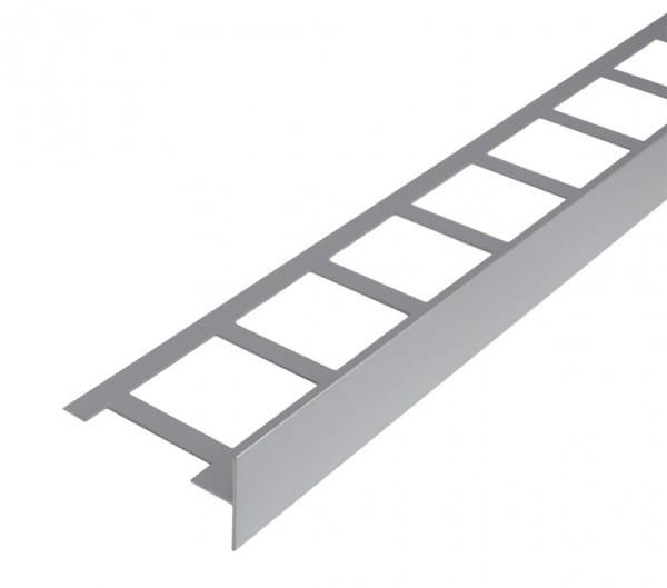 Balkonwinkelprofil T-Form 40 mm silber