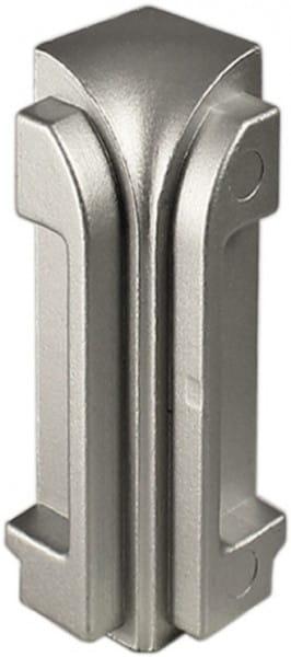 DURAL Innenecken für Arbeitsplattenprofile 9 mm silber eloxiert (matt)
