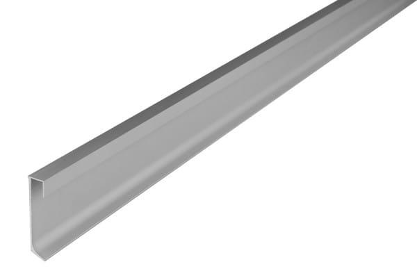 DURAL LED Sockelleiste aus Aluminium silber