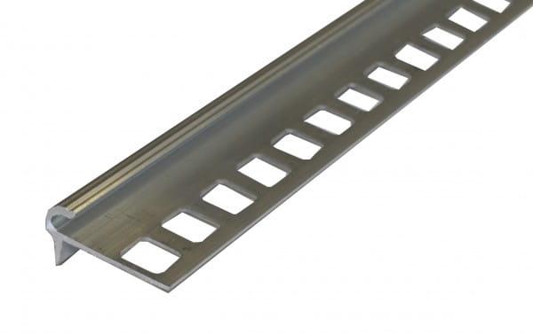 Treppenprofil Florentiner Stil Aluminium natur
